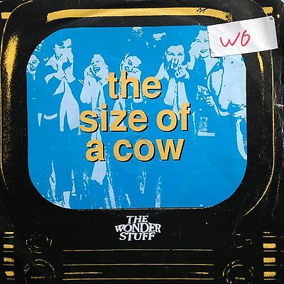 """The Wonderstuff # Size Of A Cow # 7"""" Inch Vinyl # Polydor Records # 1991"""