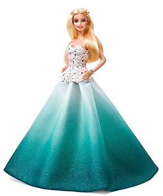 Barbie 2016 Holiday Doll New Christmas Love American Gift Edition Collection
