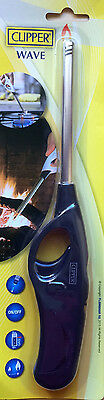 Clipper Wave Gas Hob Stove Cooker Candle BBQ Lighter Long Flame Refillable New