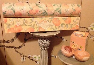 Avon Vintage 1989 Peach Orchard Drawer Liners & Soap Cakes Free Shipping