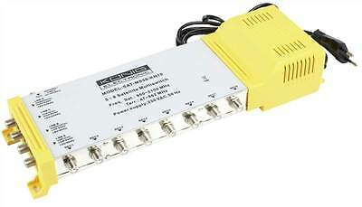 Konig 5/8 multi switch with 4 inputs for quattro LNB and 1 terrestical input