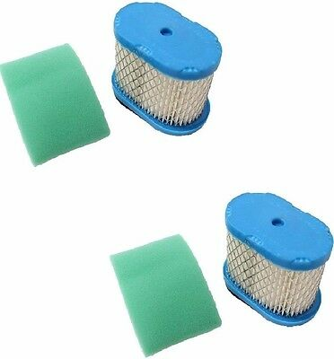 2 Pack Air + Pre Filters Fits  Briggs & Stratton 498596 690610 697029 5059h 4207