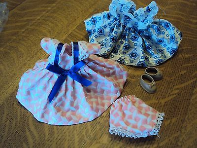 "Two 8"" doll dresses,etc"