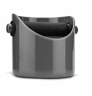 Dreamfarm Grindenstein Coffee Knock Out Box Container For Coffee Ground, Grey