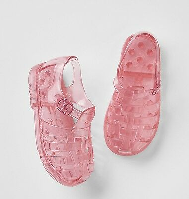 356103bff9b8 GAP Baby   Toddler Girl Size US 6 Pink Gladiator Rubber Jelly Water Beach  Shoes