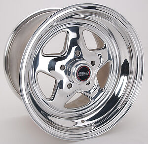Weld Racing Pro Star Wheel 15x10 in 5x4.50 in BC P/N 96-510212