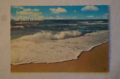 Greetings from Lakes Entrance - Australia - Collectable - Vintage - Postcard