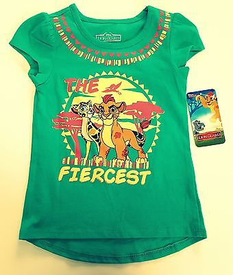 The Lion Guard Disney Girl Baby Toddler Short Sleeve New T-Shirt