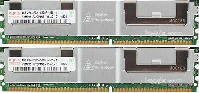 32Gb (8X4Gb) For Dell Precision 490 690 690 (750W Chassis) 690N R5400 T5400 ..