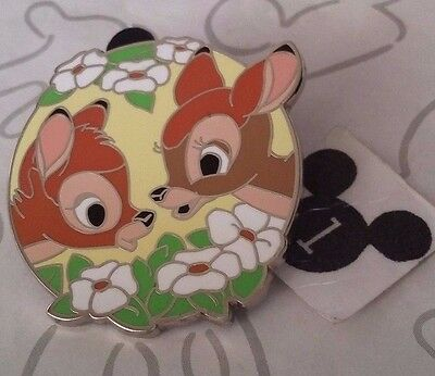 Bambi and Faline White Flowers Couples Mystery Disney Pin Buy 2 Save $