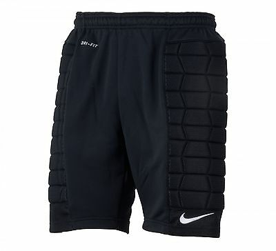 Shorts Nike Football/ Soccer Padded Goalie  Shorts Black 5 Adult Sizes S-Xxl