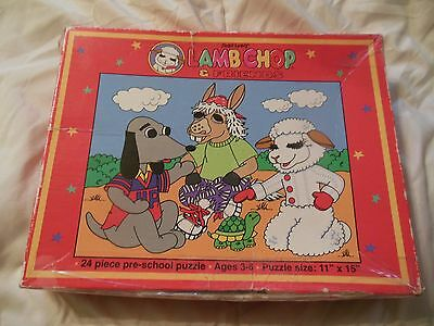 Lamb Chop and Friends Puzzle_Shari Lewis_1993_24 Pieces_11x15