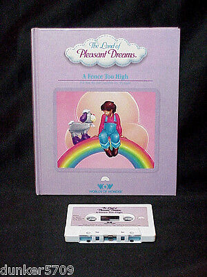 Land Of Pleasant Dreams Story Book/tape A Fence Too High Worlds Of Wonder 1986