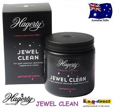Hagerty Jewel Clean 150Ml Dip Bath Jewellery Cleaner For Jewellery Diamonds