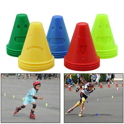 20pcs Human-Figure Hole Anti-Wind Agility Training Skating Marker Marking Cones