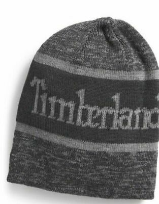 ae7e1a3d2ea TIMBERLAND UNISEX POM SOFT Cuffed STRETCH Beanie Hat ONE SIZE FITS ALL BLACK   25