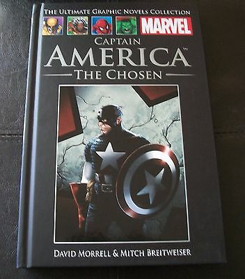 Ultimate Graphic Novels Collection, No. 54 - CAPTAIN AMERICA, THE CHOSEN MARVEL