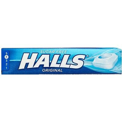 Halls Original Flavour Candy Cough Wrapped Drops