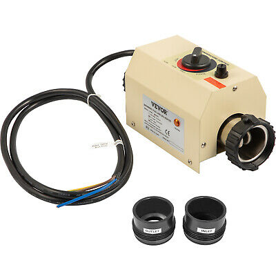 Thermostat Swimming Pool Heater 50Mm Sauna Hot Tub Electric Water Heating Newest