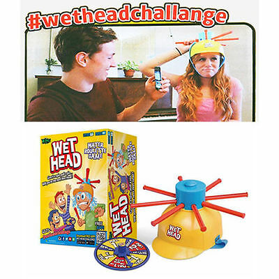 Wet Head Game Wethead Fun water roulette challenge for kids family Novelty Toys