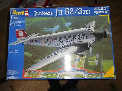 Revell 1/48 Junkers Ju 52 / 3M Airline Edition