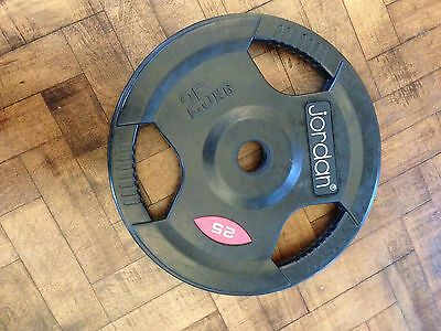 olympic weights rubber 2x25kg