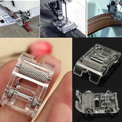 Low Shank Roller Sewing Machine Presser Foot Leather For Brother Janome Singer