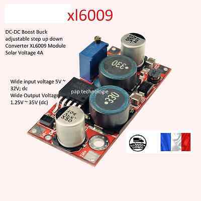 XL6009 Module  DC-DC Boost Buck adjustable step up down Converter Solar Voltage
