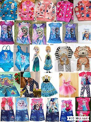 Job lot Brand New Top Quality Children Kids Girls Clothes 100 pieces.  RRP £1800
