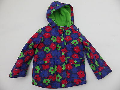 Indigo Collection M&S coat jacket 3 - 4 years Marks and Spencer hood lined cosy