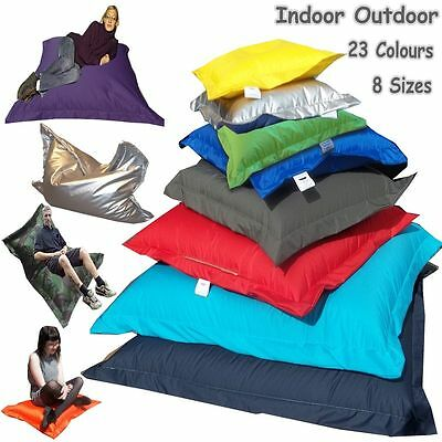 Large Bean Bag Lounger Kids Adult Children Giant Cushion Beanbags In/Outdoor