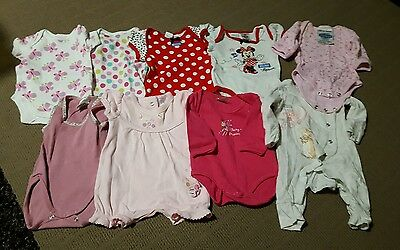Baby Girl Clothes - Size 0000 - Bulk Lot