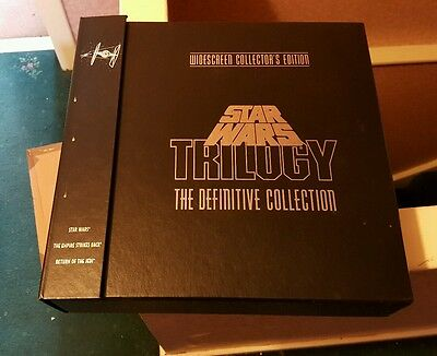Star Wars Trilogy The Definitive Collection Laser Disc