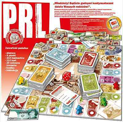 *PRL* Gra planszowa-Family Board Game-New-Delivery 48/72h