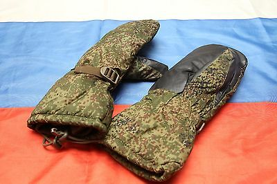Russian military Ratnik VKBO winter extreme cold weather mittens