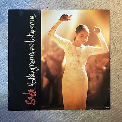"""Sade Nothing Can Come Between Us 12"""" Vinyl Single 1988 Epic Records"""