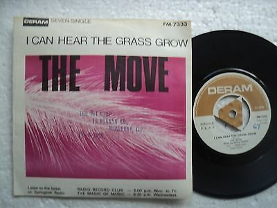 The Move - I can hear the Grass grow - Ultra Rare S.RHODESIA 45 RPM P/S
