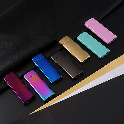 New USB Rechargeable Electric LIGHTER Double ARC PULSE Flameless Plasma Torch