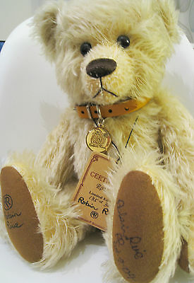 Very Rare Signed Robbie Robin Rives Bear Complete With Tags