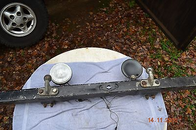 Series 1 Land Rover 80 Front Bumper