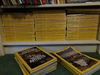National Geographic Magazines - Huge Job lot of approx 100+ issues (2005-2017~)