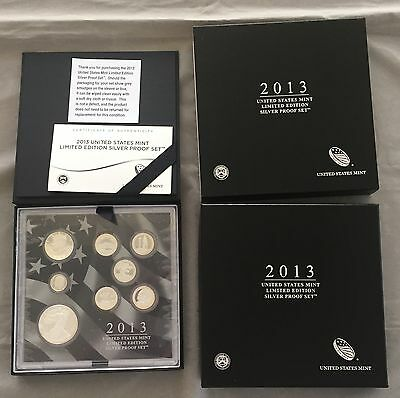 2013 US Mint Limited Edition Silver Proof Set
