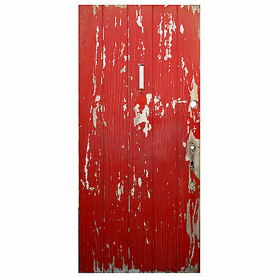 "Salvaged Antique 36"" Plank Door, Early 1900s, NED607"