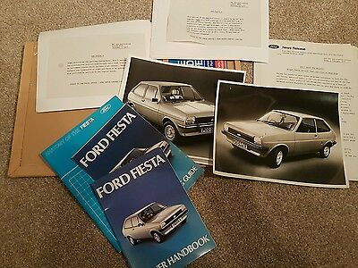 Ford Fiesta original dealer launch and press pack 1977
