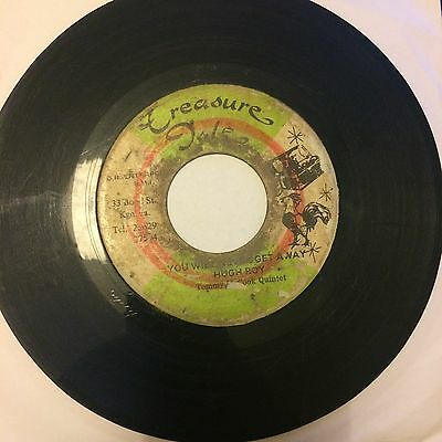 "7"" vinyl – U Roy ‎– You Will Never Get Away TREASURE ISLE ROCKSTEADY DJ CUT"
