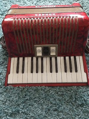 Hohner Student VB Accordion Nice Condition