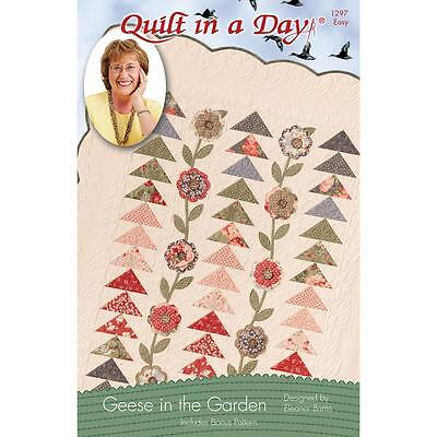 Quilt in a Day Geese in the Garden Quilt Pattern by Eleanor Burns-Easy  (QD1297)