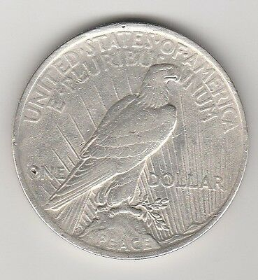 One dollar 1923 USA 1 once Argent TB