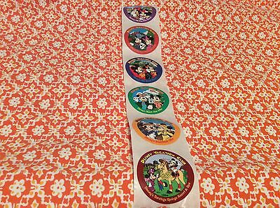 Vintage Disney Vacation Club Stickers Lot of 6