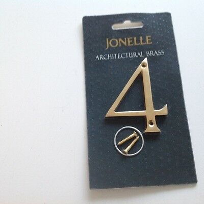 """New In Package ..john Lewis. ( Jonelle) Architectural. Brass 3"""" ..no 4"""